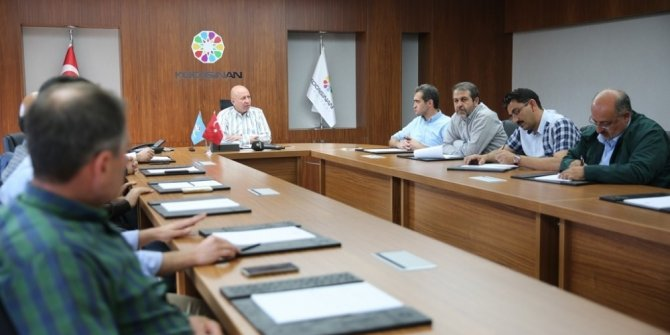Başkan Çolakbayrakdar, istişare toplantısı gerçekleştirdi