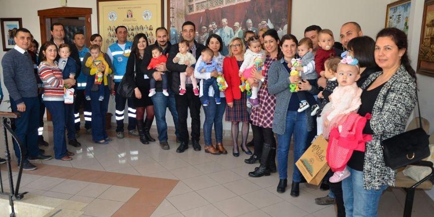 Milas'ta 'Hoşgeldin Bebek' projesi 1 yılını doldurdu