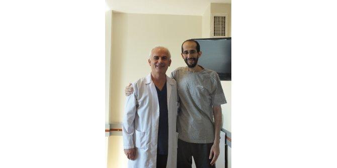 Arabistanlı hasta Türkiye'de şifa buldu