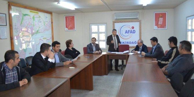 AFAD, hizmet içi eğitimi yaptı