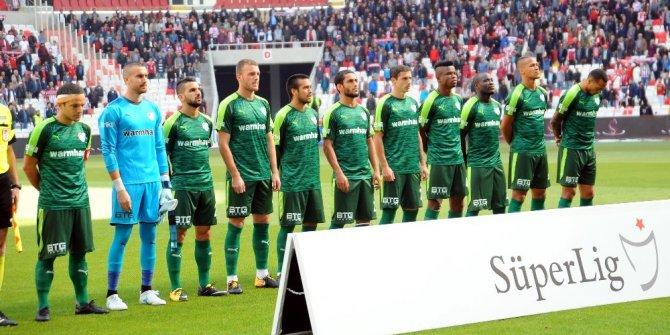 Bursasporlu futbolcular 1 puana mutlu