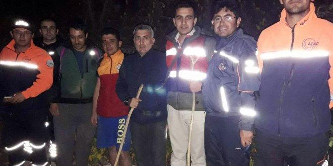 Kanyonda kaybolan 4 kişi AFAD ekiplerince kurtarıldı