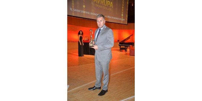 Düzce Belediyesi Kusursuz Kafe'ye Avrupa Başarı ödülü geldi