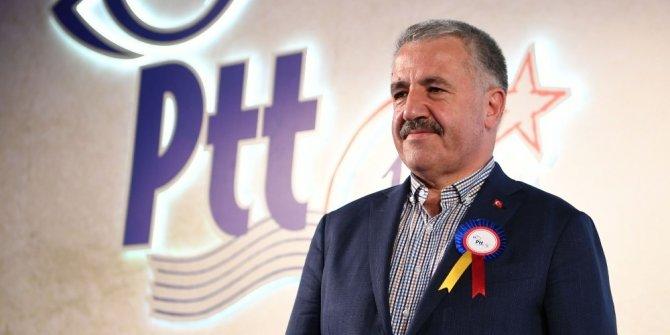 Bakan Arslan PTT'nin 177'inci kuruluş yıl dönümünü kutladı