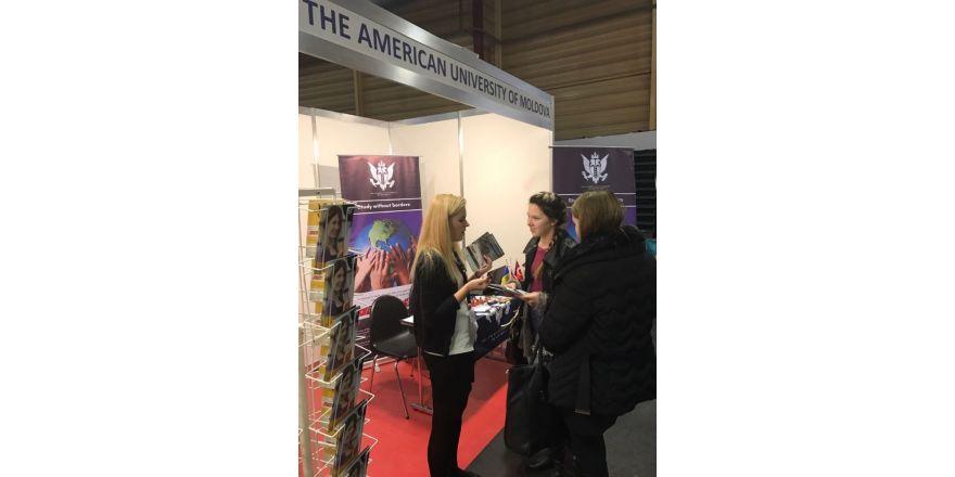 Moldova Amerikan Üniversitesi, Kıbrıs ve GAÜ'nün uluslararası kimliğini tanıtıyor