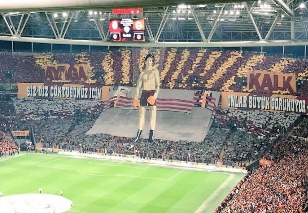 Fenerbahçe Galatasaray Maçındaki Skandal Pankarta Soruşturma