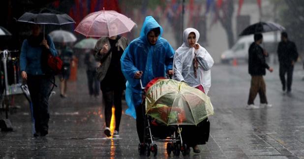Meteoroloji Uzmanlarından Yağış Uyarısı