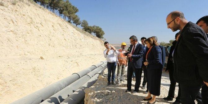 250 bin kişinin su ihtiyacını giderecek depo yapımında çalışmalar yarılandı