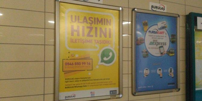BURULAŞ'TAN WhatsApp hattı