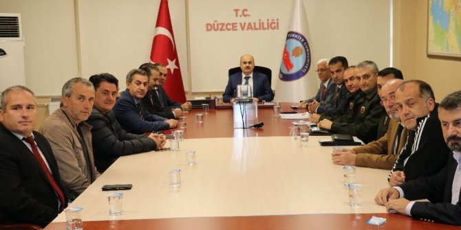 Spor Güvenlik Kurulu toplantısı gerçekleştirildi