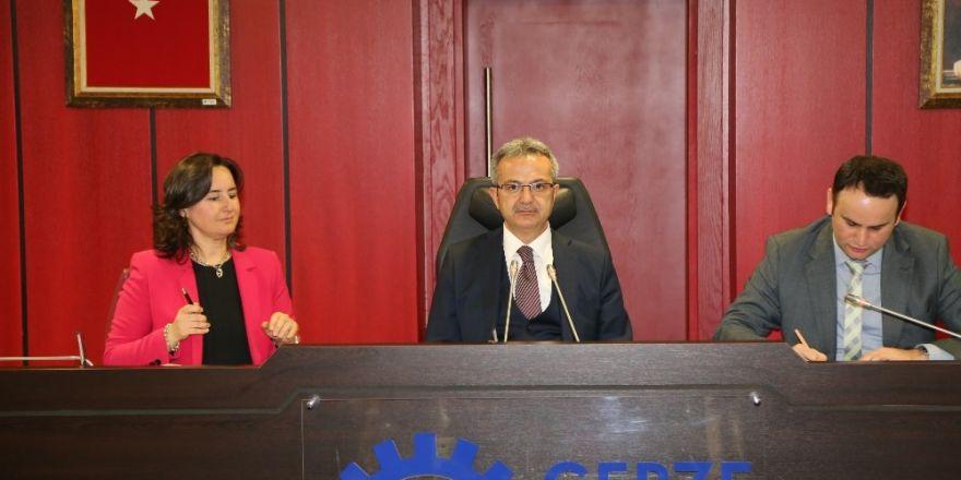 Gebze Belediyesi Mart ayı meclisi yapıldı