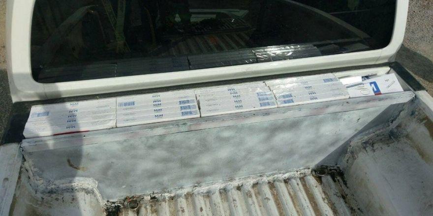 Başkale'de sigara kaçakçılığı