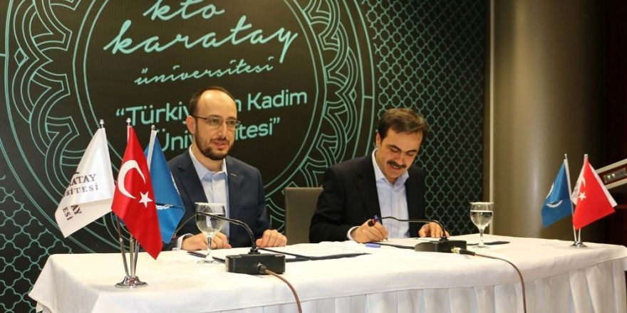 KTO Karatay Üniversitesi ile MÜSİAD arasında protokol
