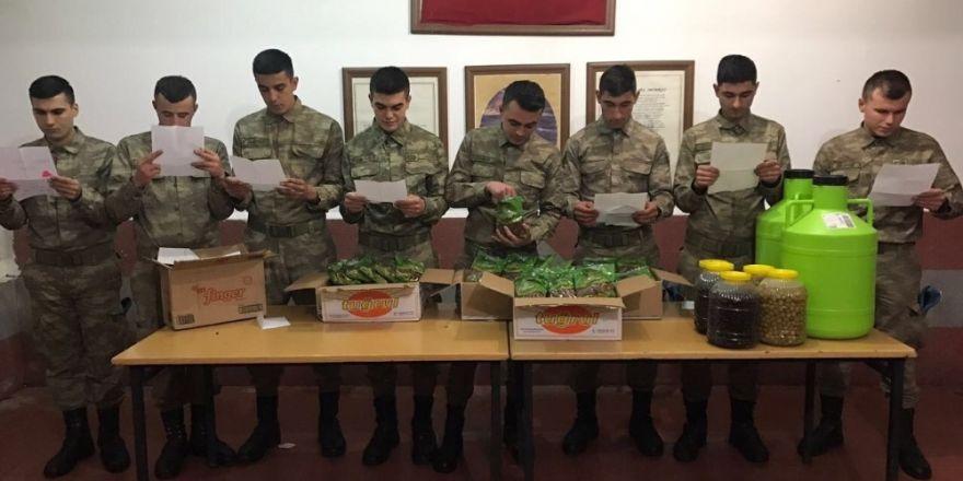 Moral mektupları ve hediyeler Şırnak'a ulaştı