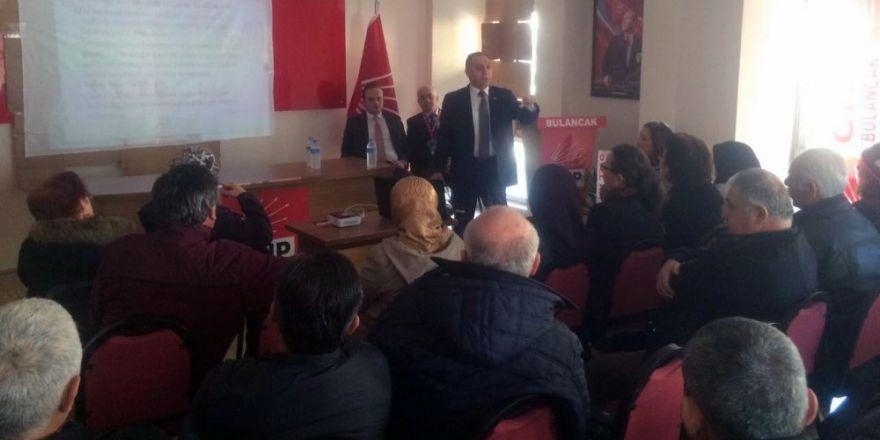 CHP'den referandum eğitimi