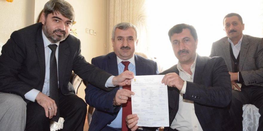 """Başkan Baran, vatandaşlardan referandumda """"evet"""" oyu için destek istedi"""