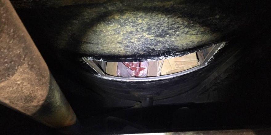 Van'da 75 bin paket kaçak sigara ele geçirildi