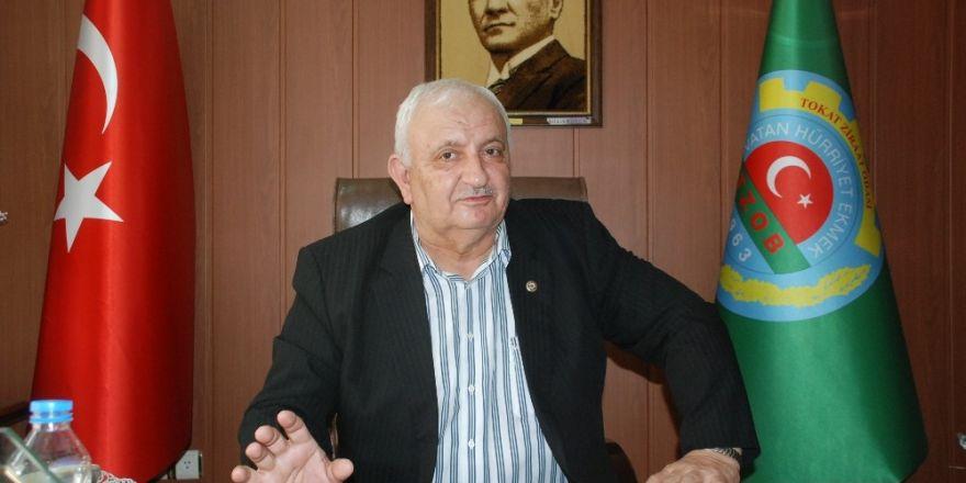 """Tokat Ziraat Odası Başkanı Dökülen,""""Bizim bölgemizden teröre gübre kaymaz"""""""