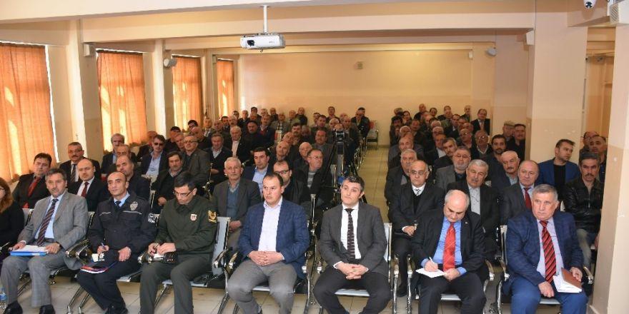 Halk günü toplantılarının altıncısı Eflani'de yapıldı