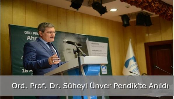 Ord. Prof. Dr. Süheyl Ünver Pendik'te Anıldı