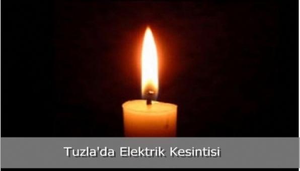 Tuzla´da Elektrik Kesintisi