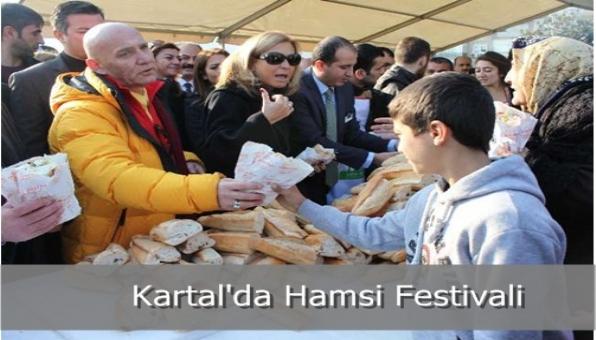 Kartal´da Hamsi Festivali