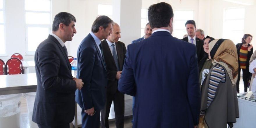 Başkan Alemdar'dan kursiyerlere ziyaret