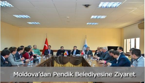 Moldova'dan Pendik Belediyesine Ziyaret