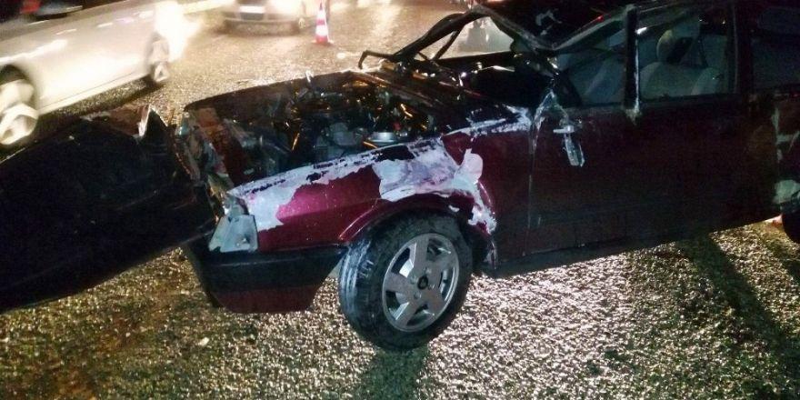 -Antalya'da trafik kazası: 1 ölü