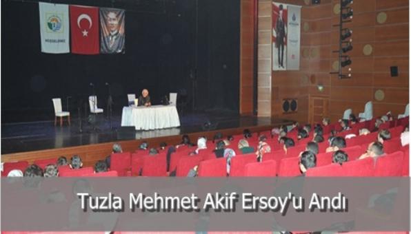 Tuzla Mehmet Akif Ersoy´u Andı