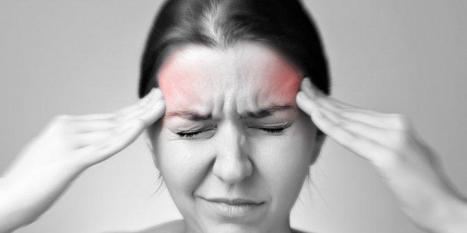 """""""Baş ağrısı çene eklemi rahatsızlığından da olabilir"""""""