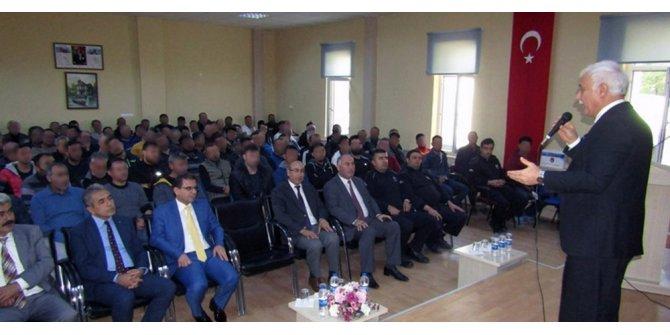 Açık Cezaevi hükümlülerine Hatipoğlu'ndan konferans