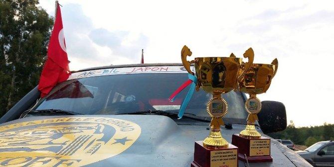 Datça off road ekibi kupaları toplamaya devam ediyor