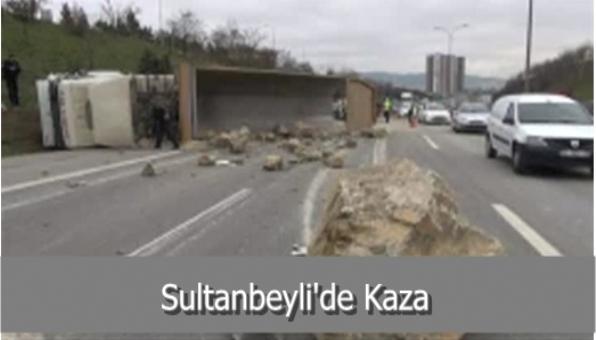 Sultanbeyli´de Kaza