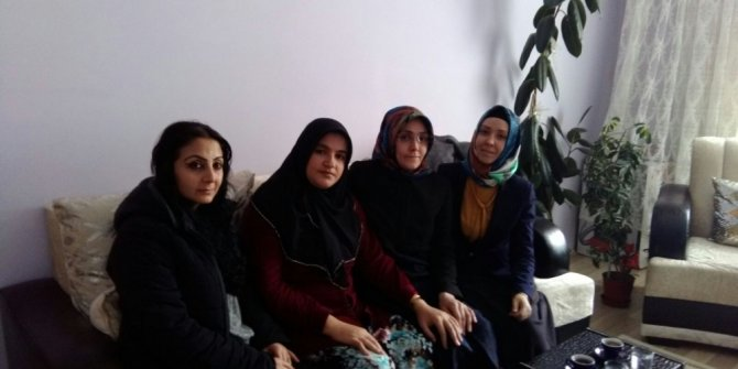 Eğitim-Bir-Sen Kadınlar komisyonundan anlamlı ziyaret