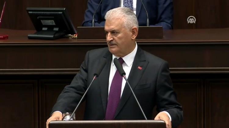 """Başbakan Binali Yıldırım'dan  CHP'ye Atatürk cevabı: """" Bre ahmaklar.."""""""