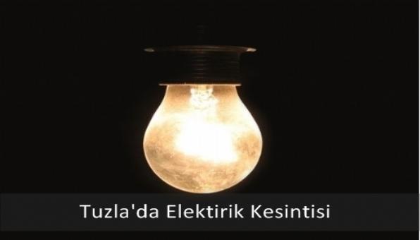 Tuzla´da Elektirik Kesintisi