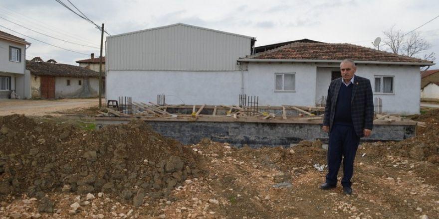 Büyükşehir'den köylere süt toplama merkezi