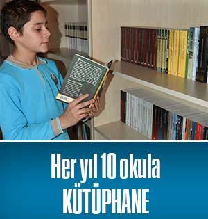 Pendik Belediyesi'nden Her Yıl 10 Okula Kütüphane