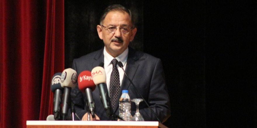 """Özhaseki: """"Marmara'da 2030'a kadar 7.2 büyüklüğünde deprem olacak"""""""