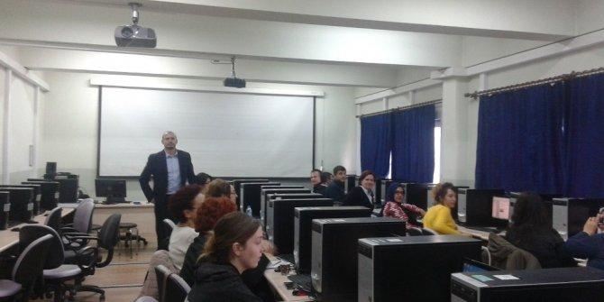BÜ'de 'Bilişim Teknolojilerinin Etkin Kullanımı' eğitimi verildi