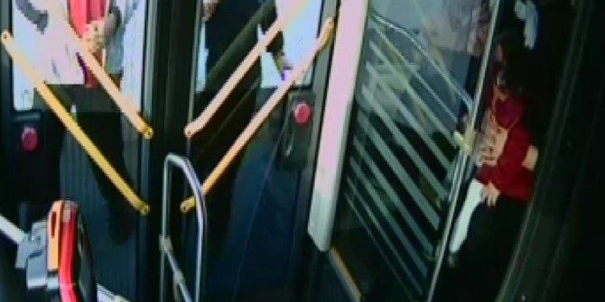 Otobüsteki kavganın yeni görüntüleri ortaya çıktı