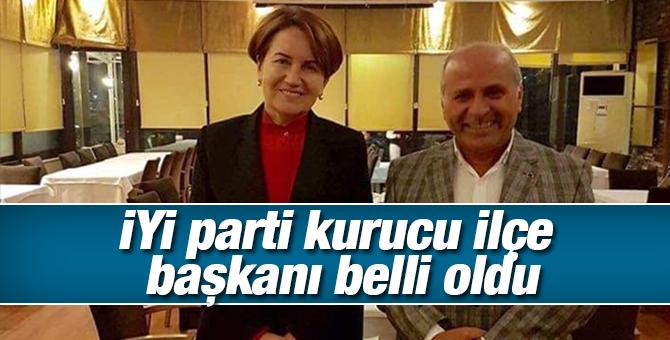 İYİ Parti Tuzla'nın Kurucu İlçe Başkanı belli oldu