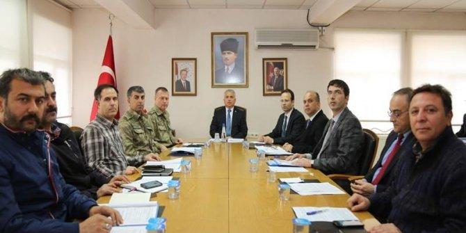 Muş'ta 'Akaryakıt Kaçakçılığı ile Mücadele Koordinasyon Kurulu' toplantısı