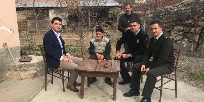 Kaymakam Çiftci'den Yaylaoğlu ailesine ziyaret