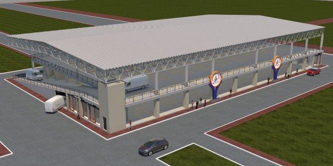 Yeşilbahçe'ye modern pazar yeri