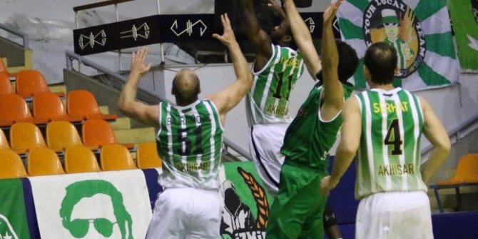 TBF 1. Ligi: Akhisar Belediyespor: 77 - Bursaspor Durmazlar: 81