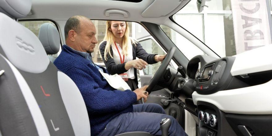 Engelliler Mersin'de ilk defa test sürüşü yaptı