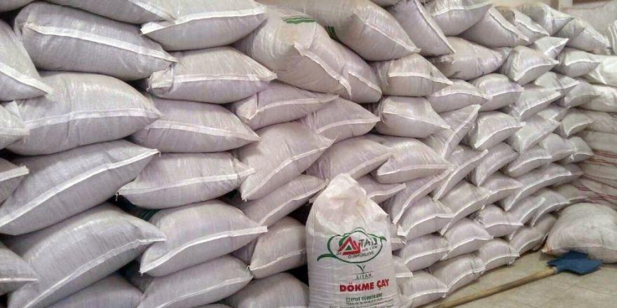 Van'a 5,5 ton kaçak çay ile 4 bin 626 koli kaçak ton balığı ele geçirildi