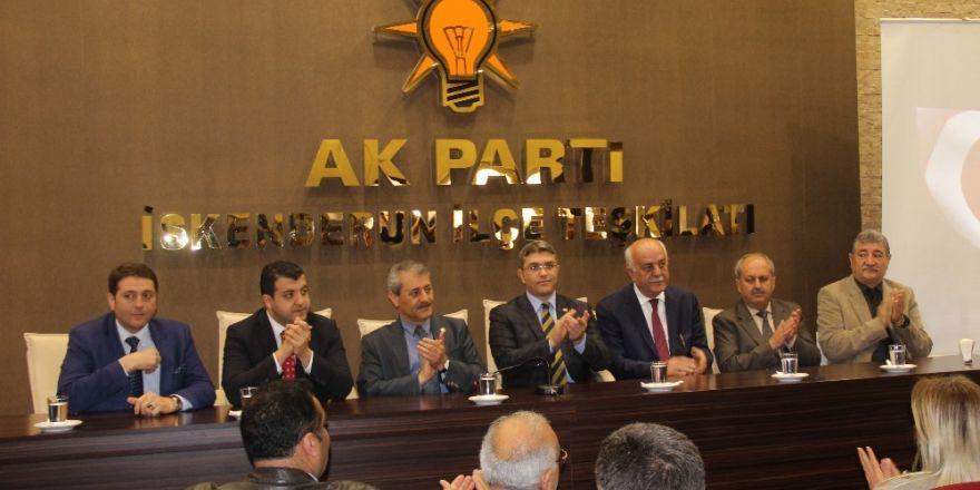 """AK Parti Milletvekili Karasayar: """"Kalıcı istikrar için son noktayı 16 Nisan'da koyacağız"""""""